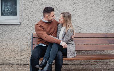 Sonja und Olli – herbstliche Romantik im Ansbacher Hofgarten