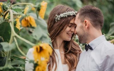 Ramona & Mario – traumhafte, moderne Hochzeit im Schloss Burgfarrnbach