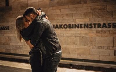 Katharina und Sebastian – Lovestory in der Fürther U-Bahn