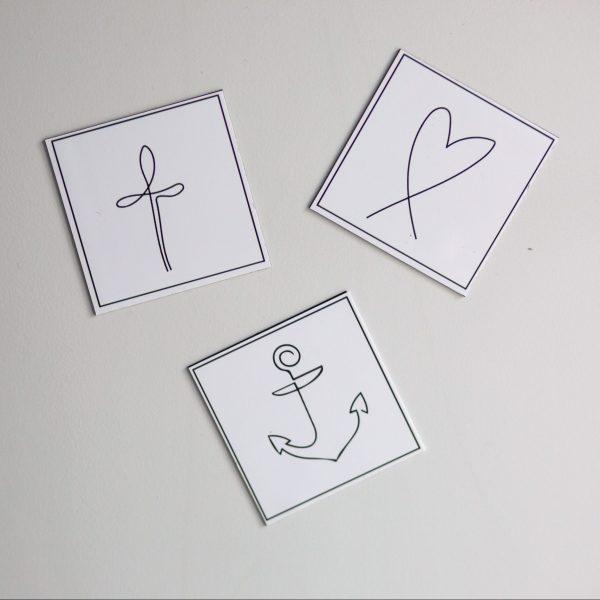 eigenes Magnetdesign-Magnete-Magnete Sprüche- Magnete-design-hip-mintgrün-christlich-selbstliebe-liebe